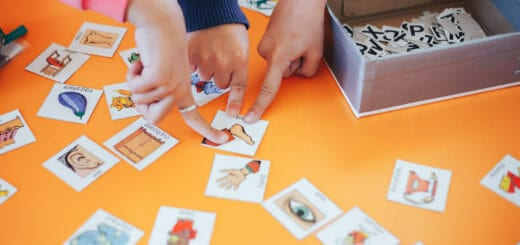 students-education-play-cards